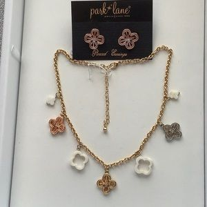 Park Lane Aruba Sunset Necklace and Earrings, New